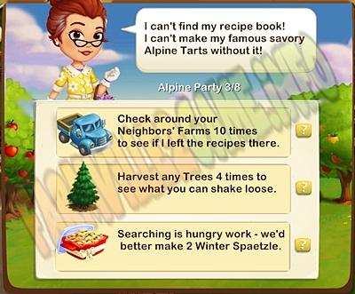 Framville 2 Missing Recipe!