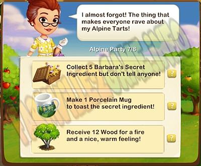 Farmville 2 The Secret Ingredient