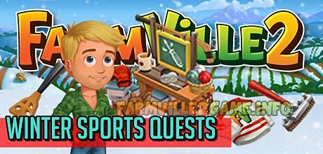 Farmville 2 Winter Sports Quests