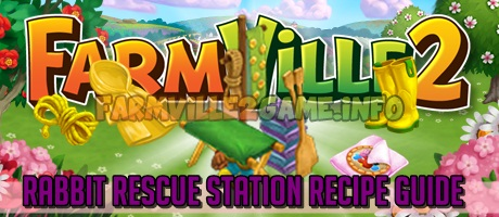 Rabbit Rescue Station Recipe