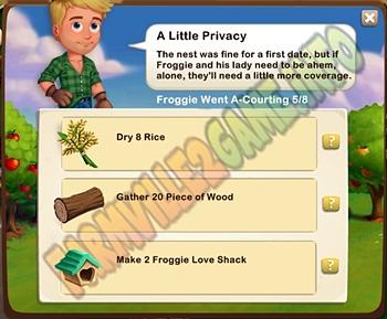Farmville A Little Privacy