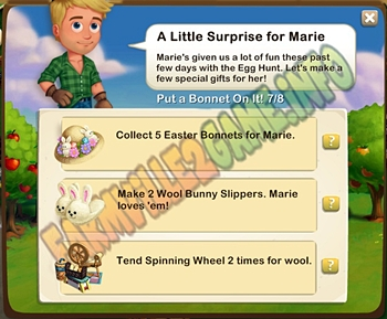 Farmville 2 A Little Surprise for Marie