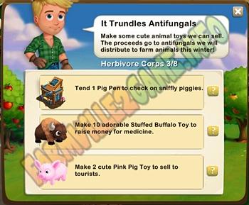It Trundles Antifungals