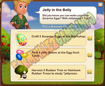 Farmville 2 Jelly in a Bean