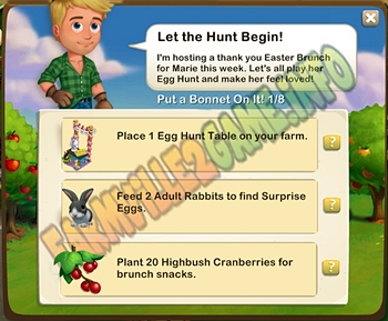 Farmville 2 Let the Hunt Begin