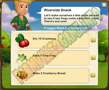 Farmville 2 Riverside Snack