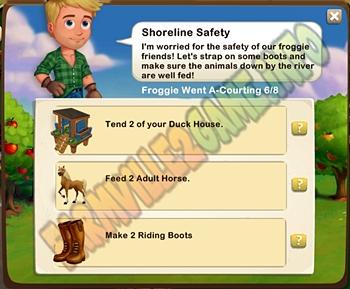 Farmville 2 Shoreline Safety
