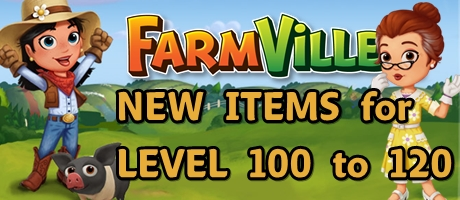 New Items for level 100 to 120