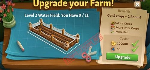 Level 2 Water Fields