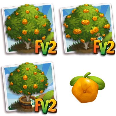 Pentagon Orange Tree