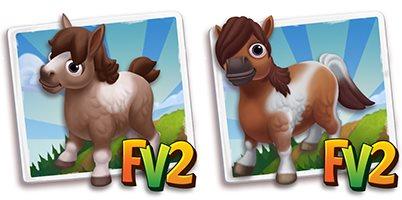 Mini Tobiano Campolina Horse