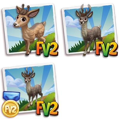 Taruca Deer