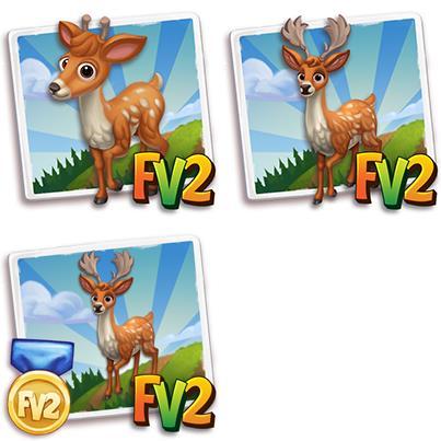Persian Fallow Deer