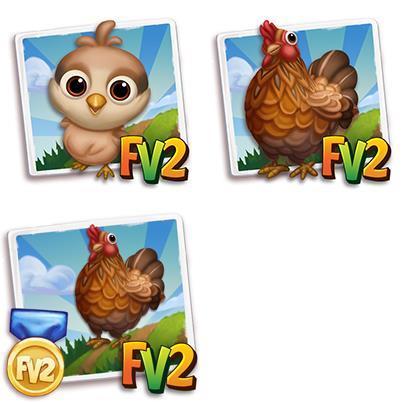 Bielefelder Kennhuhn Chicken